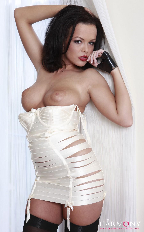 gif skinny chic huge boobs